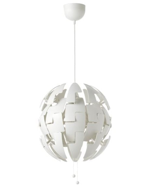 IKEA  โคมแขวนเพดานสีขาว PS 2014 1