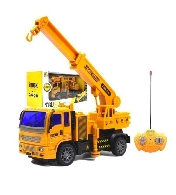 THE TOY รถของเล่นเด็ก รุ่น รถก่อสร้างบังคับวิทยุ 1
