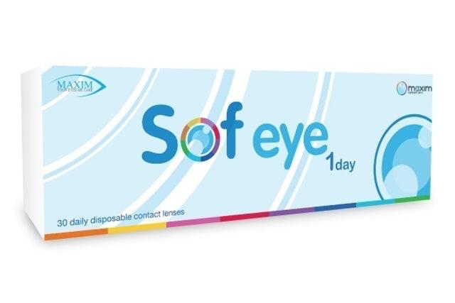 MAXIM Sof Eye 1 Day Color  1