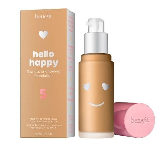 benefit  Hello Happy Flawless Brightening Foundation 1