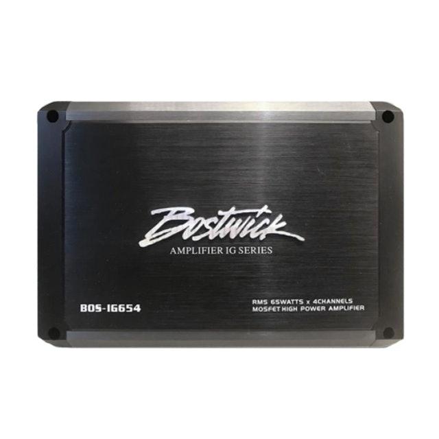 BOSTWICK เพาเวอร์แอมป์รถยนต์ รุ่น BOS-IG654 1