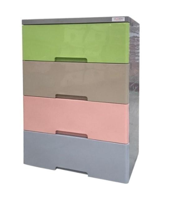 Modern ตู้ลิ้นชักพลาสติก รุ่น A58 E(C5) 1