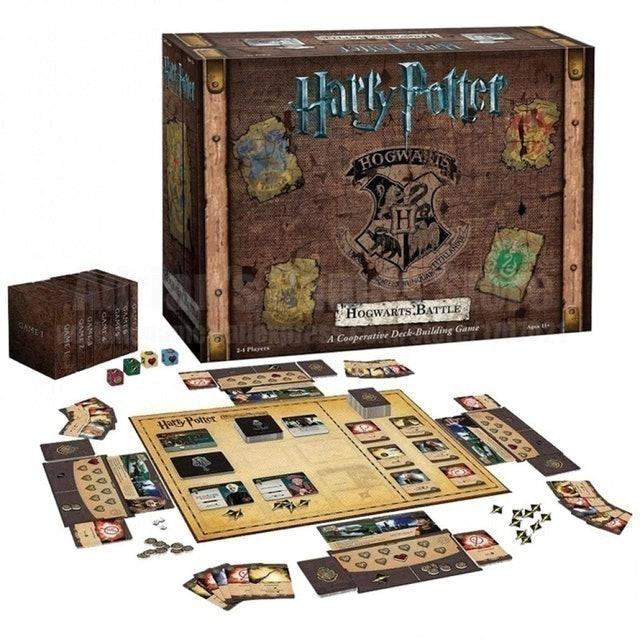 Asmodee ของสะสม บอร์ดเกม Harry Potter: Hogwarts Battle Board Game 1