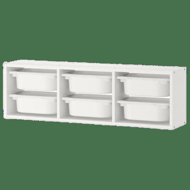 IKEA ตู้ลิ้นชักเก็บของแขวนผนัง TROFAST 1