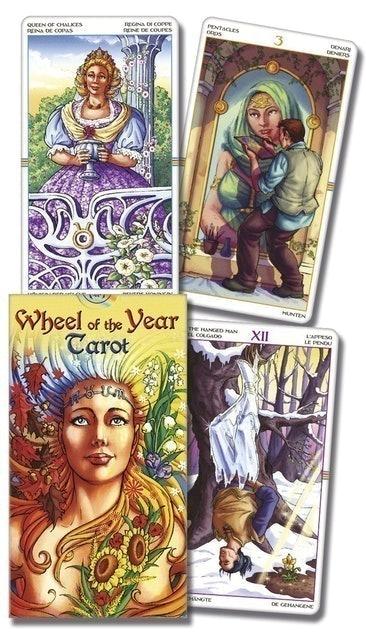 Antonella Platano, Maria Caratti Wheel of the Year Tarot 1