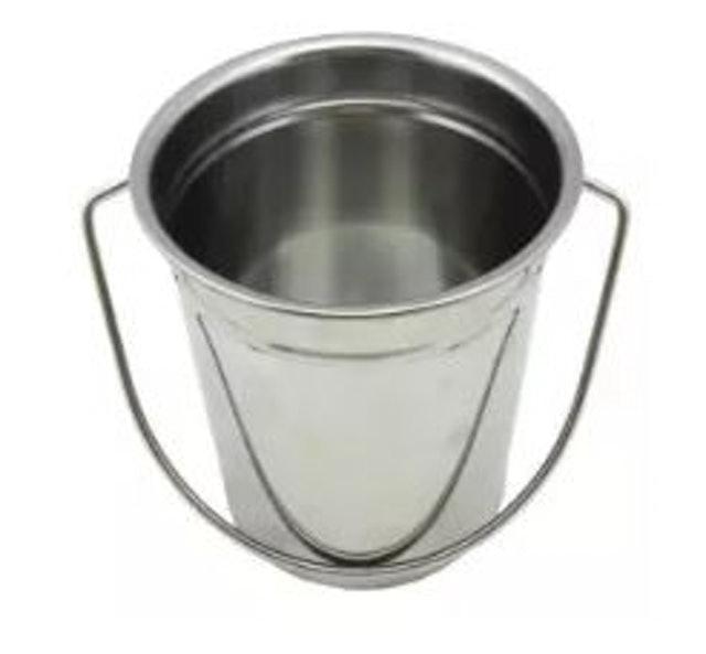 CMA ถังใส่น้ำแข็งสเตนเลสขนาด 16 cm แถมฟรีที่คีบน้ำแข็ง 1