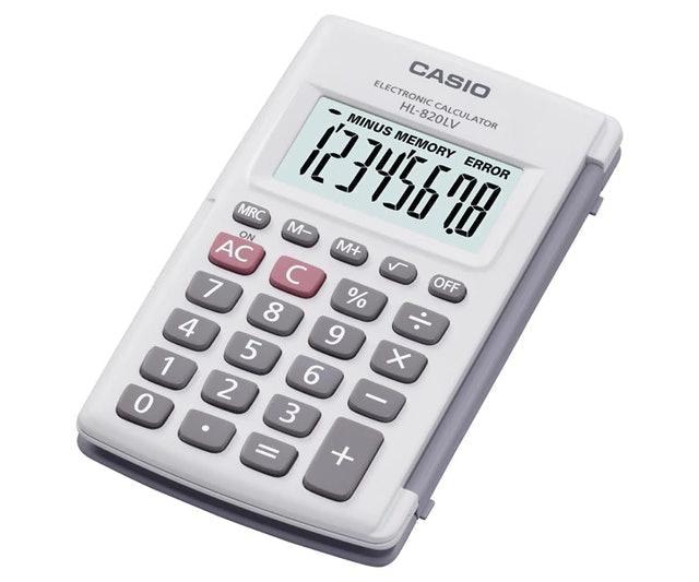 Casio HL-820LV-WE 1