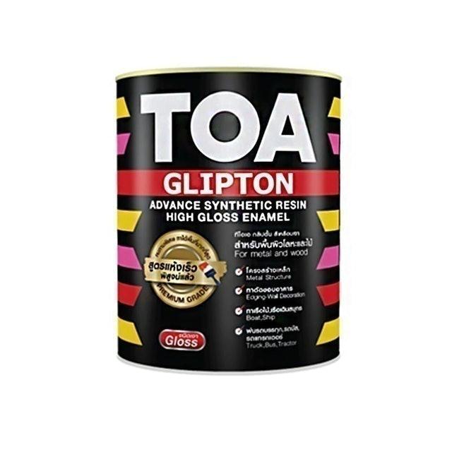 TOA สีน้ำมันเคลือบเงา Glipton Base B  1
