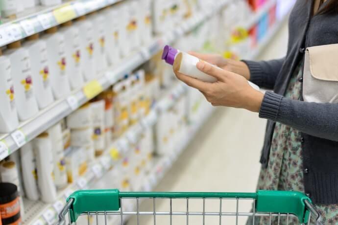 ยาสระผมที่มีส่วนผสมของแอลกอฮอล์ : หาซื้อง่าย ราคาไม่แพง