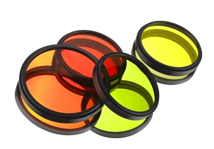 เลือกจากผลลัพธ์ของภาพ เช่น Color filter, Polarization หรือกรองแสง