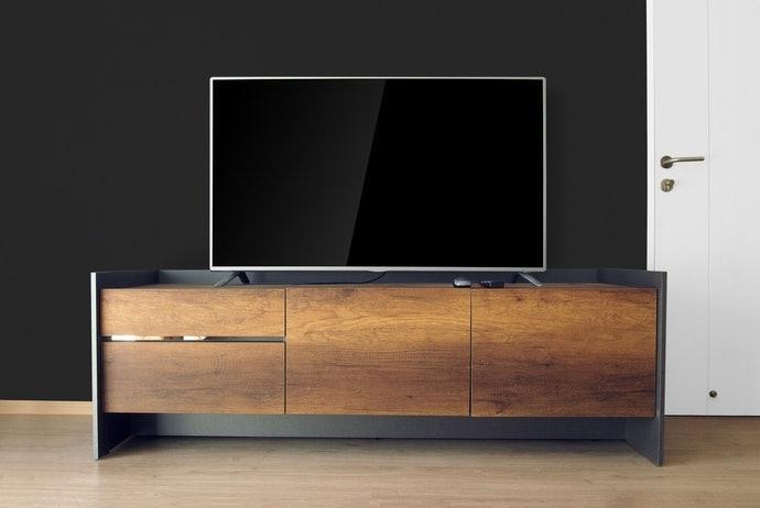 เลือกชั้นวางตามขนาดจอทีวีที่ใช้งาน