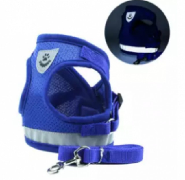 6. LightSmile – New Nylon Mesh Dog Harness 1