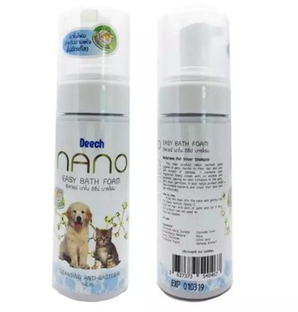 3. Deech – Nano Easy Bath Foam 1