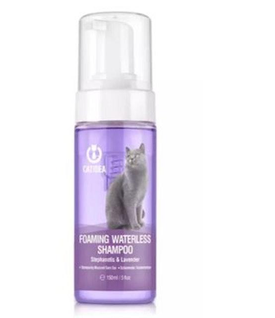 5. CAT IDEA – Foaming Waterless Shampoo 1
