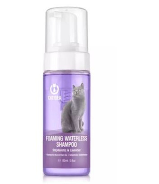 5. CAT IDEA – Foaming Waterless Shampoo 1