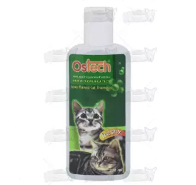 6. Ostech – Shampoo Freshy Smell For Long Hair Cats 1