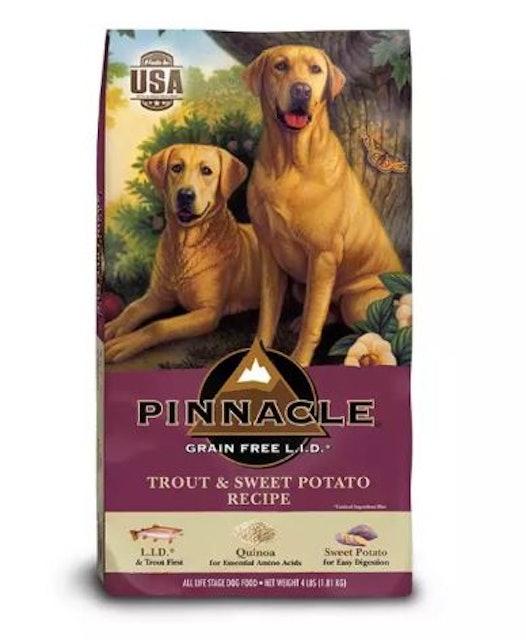 4. PINNACLE – Grain Free Trout & Sweet Potato 1