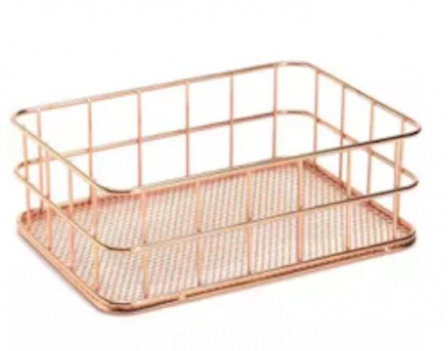 8. No Brand – Wire Bathroom Shelves 1