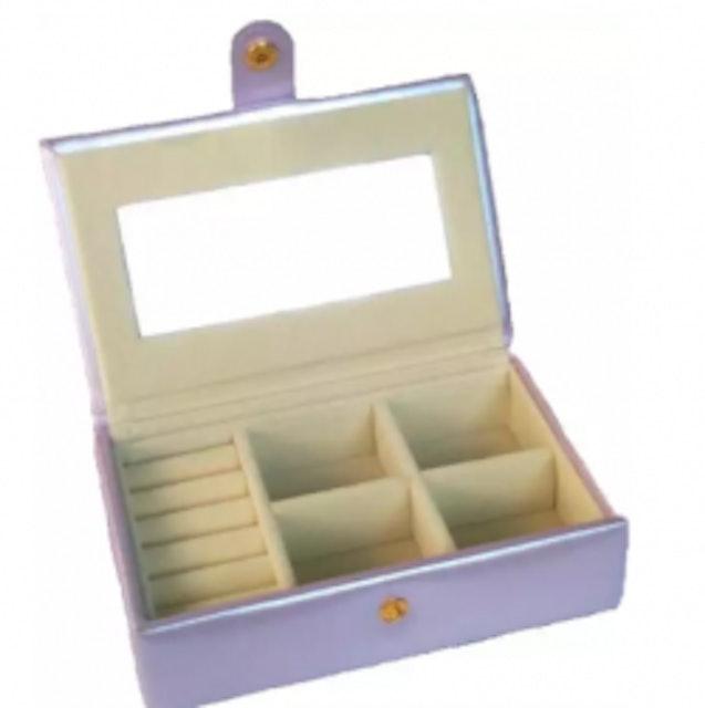5. No Brand – กล่องเก็บเครื่องประดับพร้อมกระจกขนาดเล็ก 1