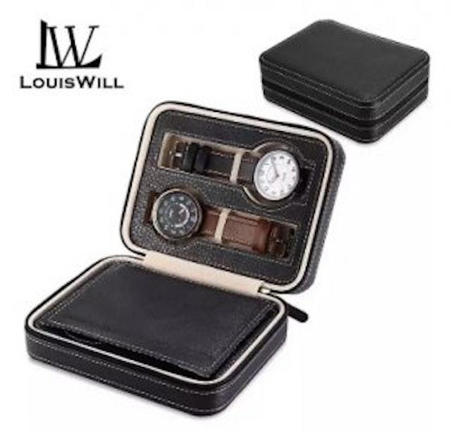 2. LouisWill– กล่องเก็บนาฬิกาแบบซิป 1