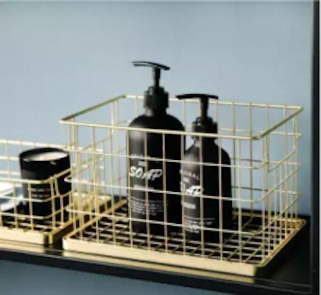 6. BANFANG – Storage & Organisation Iron Art Basket 1