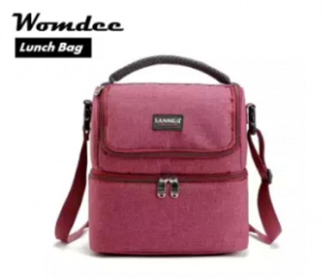 3. Womdee – Outdoor Insulated Double Decker Cooler Lunch Box 1
